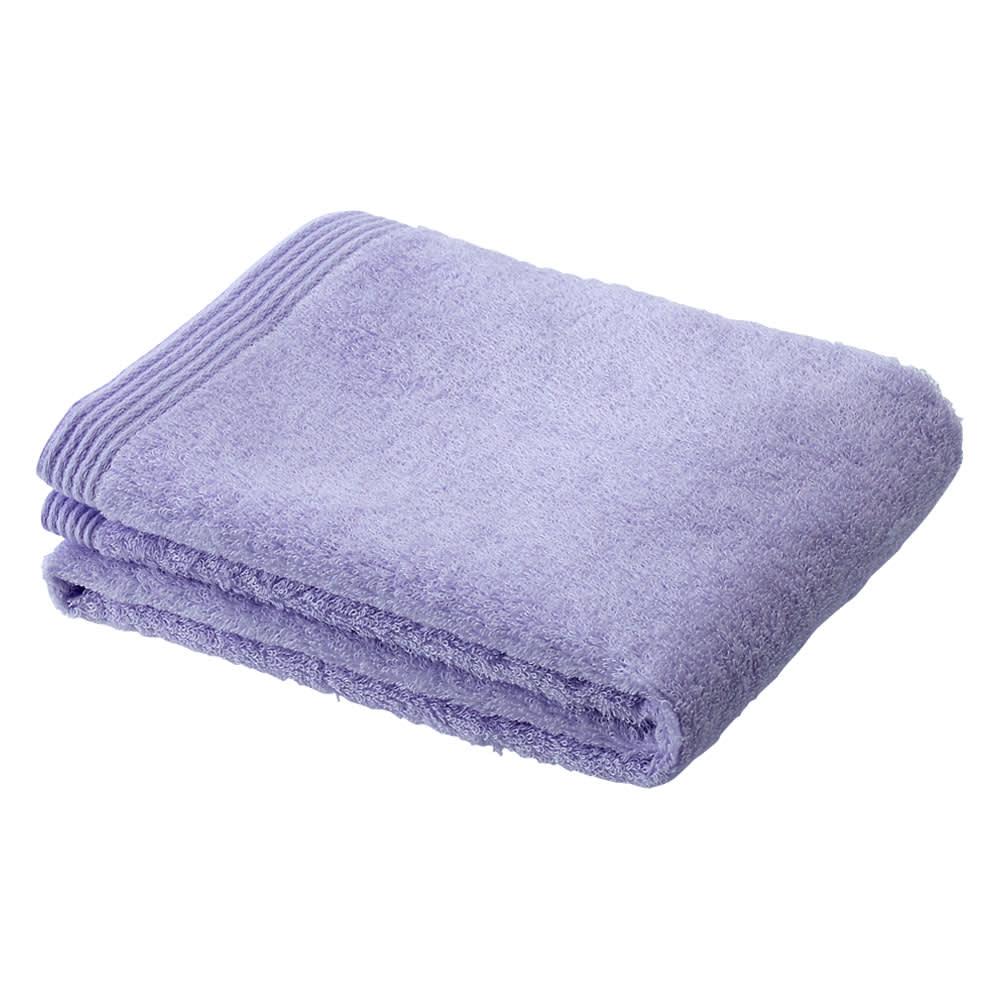 洗うほどやわらかくなるタオル バスタオル(色が選べる2枚組) (キ)パープル