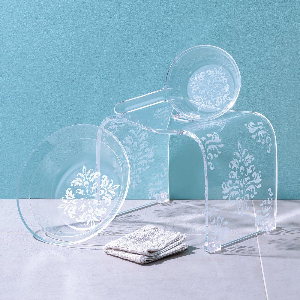 アカンサス バスシリーズ ウォッシュボール(洗面器)単品 (イ)クリア※お届けは洗面器のみです。