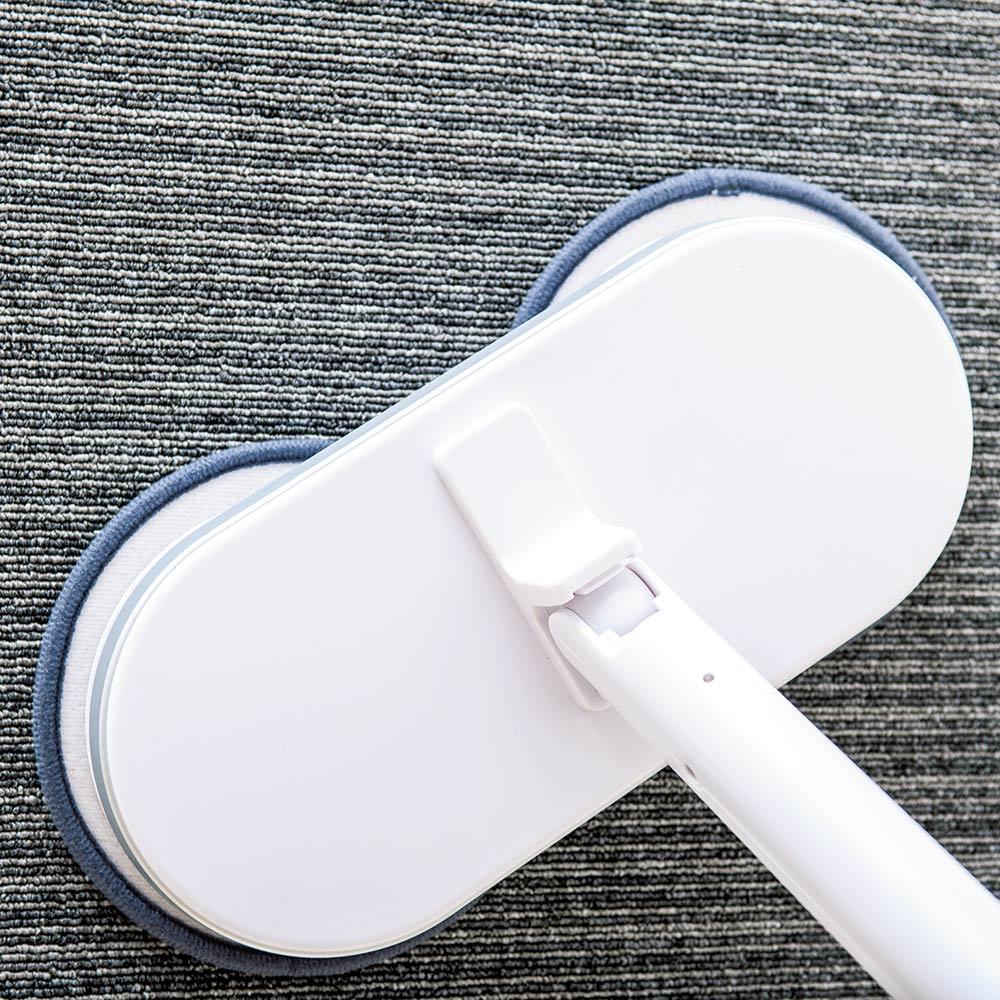 コードレス回転モップクリーナーNEO+(プラス) トルクアップしたことにより、カーペットのお掃除も可能に!
