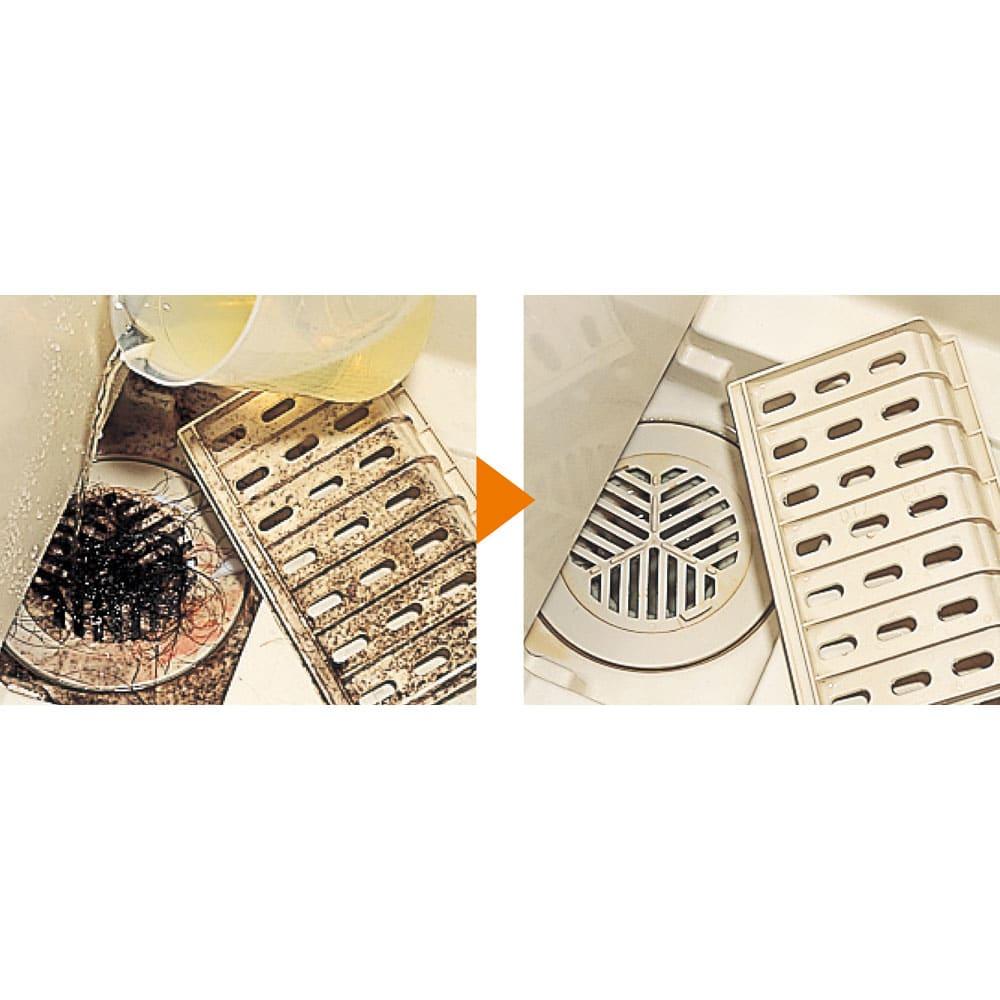 業務用 強力パイプ洗浄剤「ピカットロンプロ」 4Lセット(2L×2本) 浴室のいやーな詰りもこすらず、トロっと掛けるだけ!