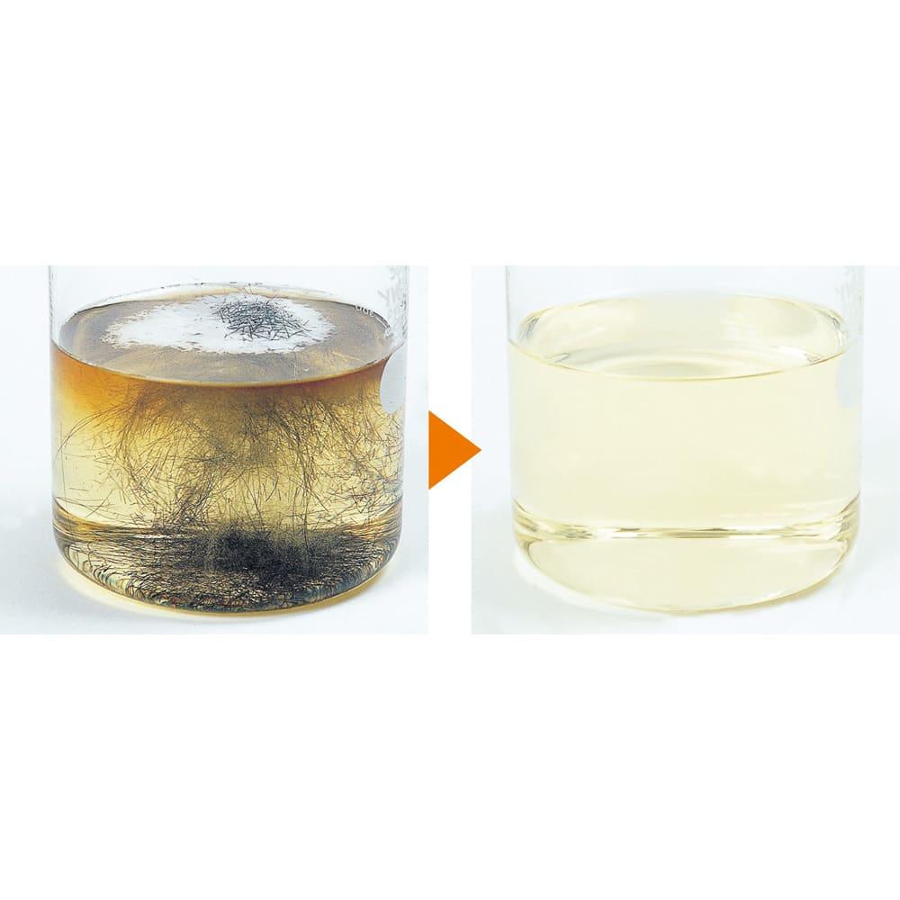 業務用 強力パイプ洗浄剤「ピカットロンプロ」 4Lセット(2L×2本) 髪の毛を溶かす!浴室の排水溝に残った髪の毛も約5~10分でさっと溶解。雑菌やカビもすっきり。