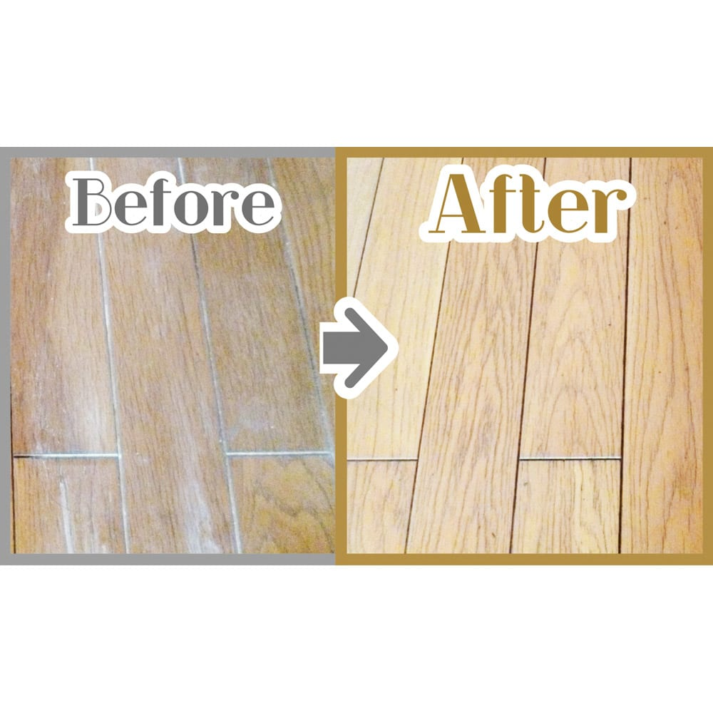 フローリングワックス&クリーナー「ピュアベールネオ」 スプレーモップセット 床を美しく保護。 1回の掃除で洗浄、つや出し、保護などの効果を発揮。
