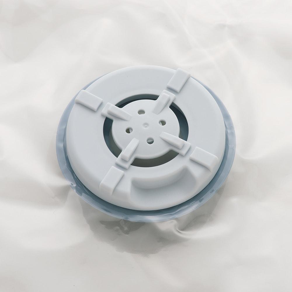 新衣類用圧縮収納ボックス 4個組 空気が逆流しない特殊バルブを採用。