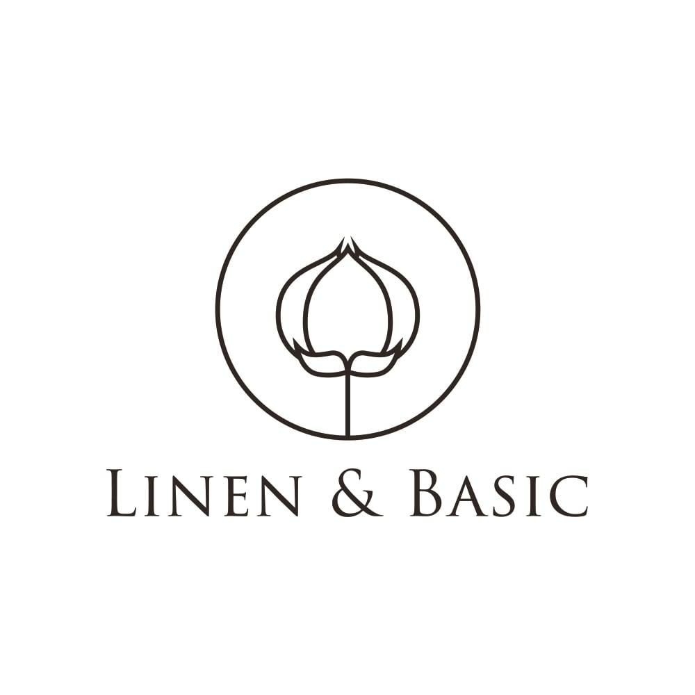 【LINEN & BASIC/リネン&ベーシック】 リネン100%カバーリング ピローケース(1枚)