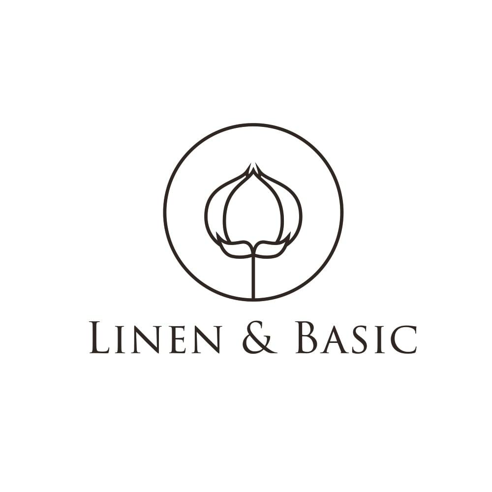 【LINEN & BASIC/リネン&ベーシック】 リネンのれん(1枚) 幅約45cm ポジャギ風(パッチワークタイプ)