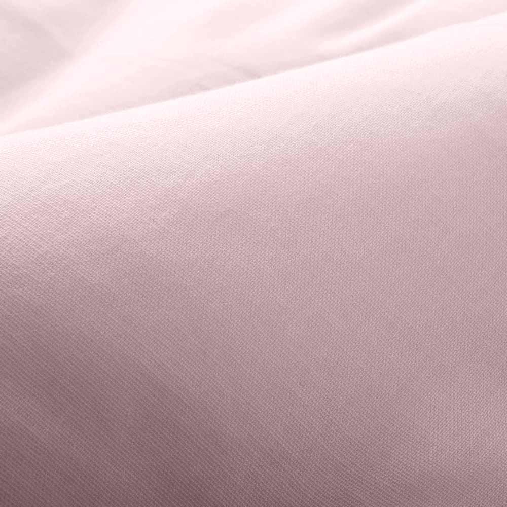 テンセルTM &ガーゼ寝具シリーズ ふわふわコンフォーター 生地アップ (ウ)ロゼラベンダーはほんのりピンクがかった、落ち着きのあるラベンダー色です。