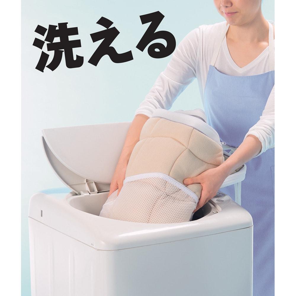 朝が違う。敷布団の決定版! ブレスエアー(R)敷布団 ネオ シリーズ 3つ折り敷布団 お手入れのしやすさも人気のポイント!立てかけて湿気を外へ。側カバーは取り外して洗濯機へ。いつでも簡単にお手入れできます。