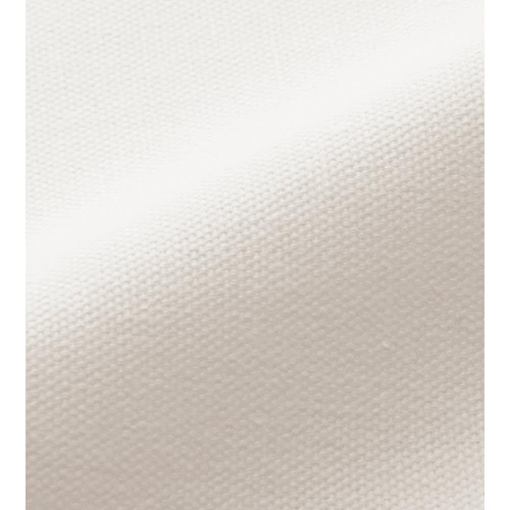 着脱簡単オックスフォードシーツ ファミリータイプ 【素材アップ】(ア)ホワイト 丈夫で洗濯しやすいオックスフォード生地。