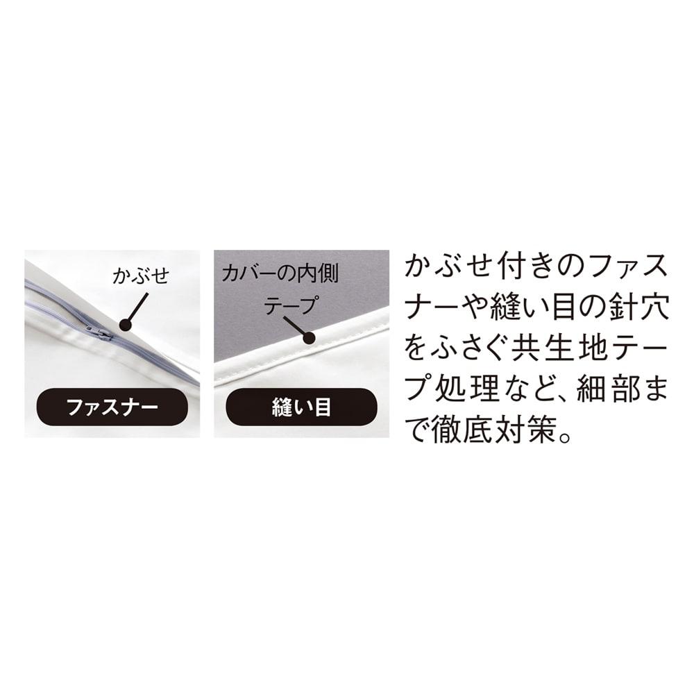 ミクロガード(R)防ダニ用寝具プロテクター 枕用 普通判2枚組