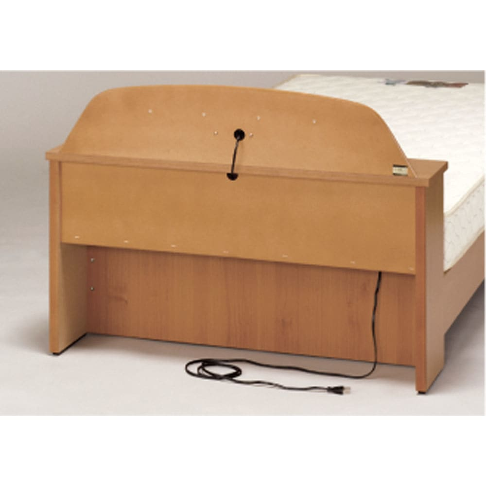 フランスベッド棚照明付きベッド マルチラススーパースプリングマットレス付き ヘッド裏コード
