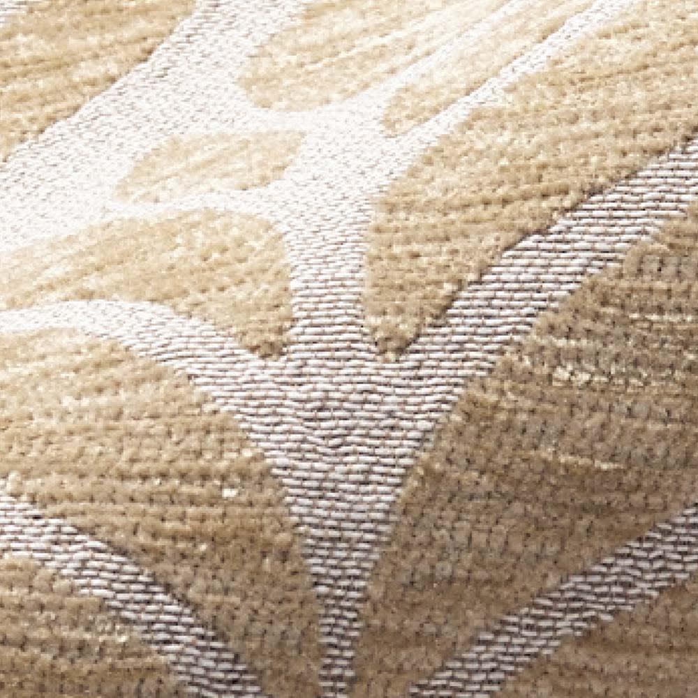 イタリア製ソファカバー〈フォリア〉 アームなし 毛羽のあるシェニール糸を使用して、凹凸感があります。(ア)ベージュ