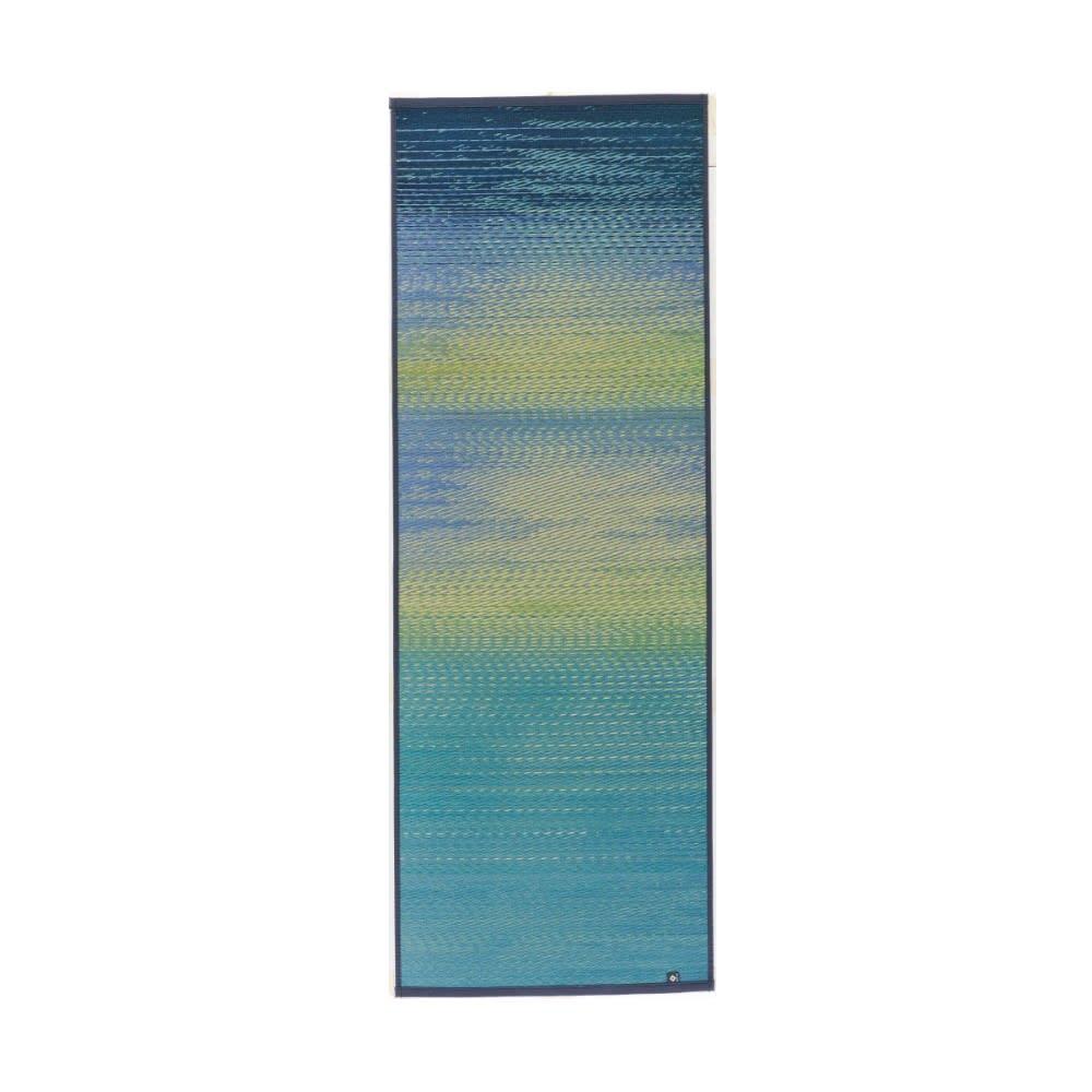 い草のマット〈畳ヨガ〉SKYSEA (イ)ハワイアンブルー(ブルー系)