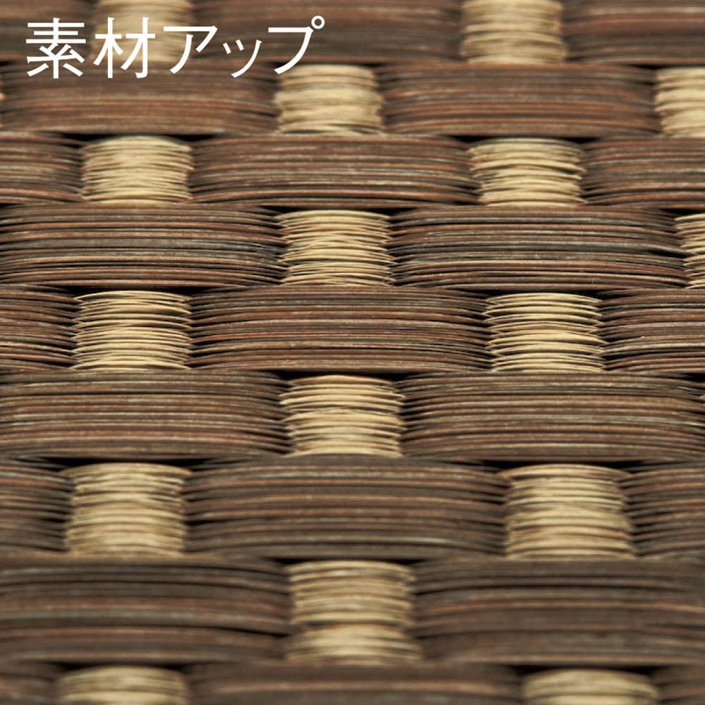 紋織い草ラグ「まどか」(裏なし/裏付き/ふっくらタイプ) 「紋織」 い草を織り込む多数のタテ糸が複雑な紋様を織り出し、技巧的で織り柄の変化に富む紋織。