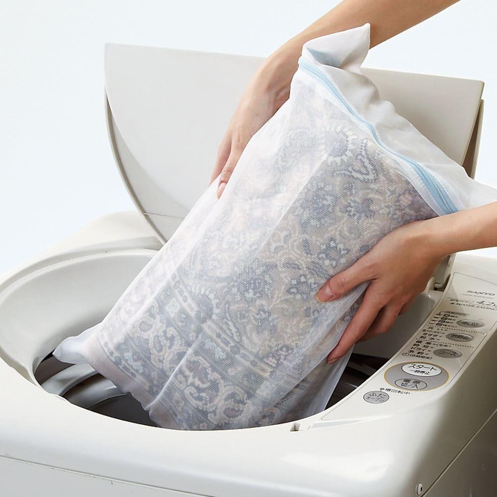 ポーロモケット織廊下敷き 幅67cm ネットに入れて洗濯機で洗えます。