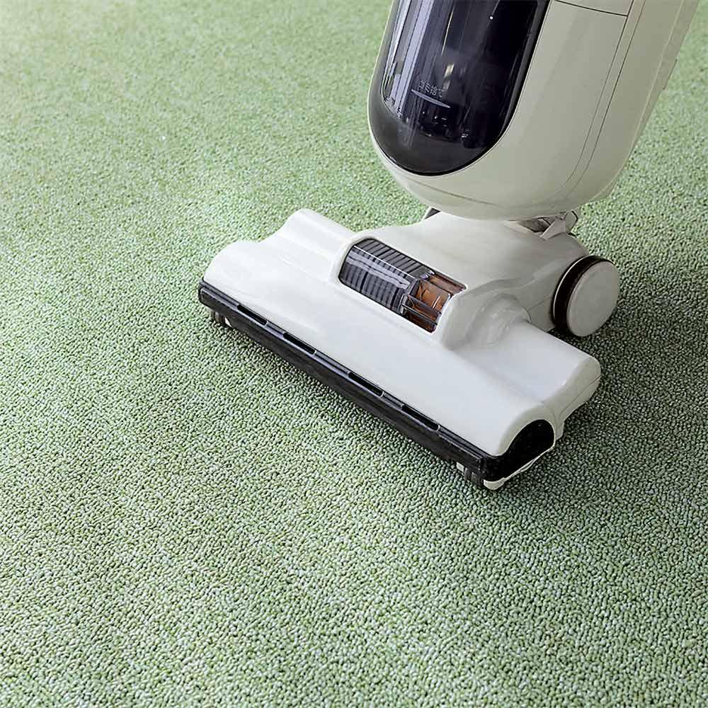 色が選べる機能充実カーペット 3畳~10畳 【四角カット フリーカットサービス】 掃除機もかけやすい、しっかりとしたループパイルです。