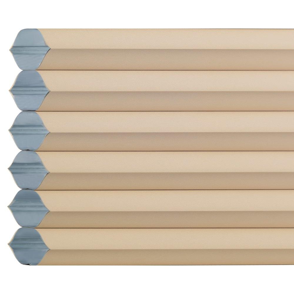 遮光・断熱ハニカム構造の小窓用シェード(イージーオーダー)(1枚) (イ)ベージュ