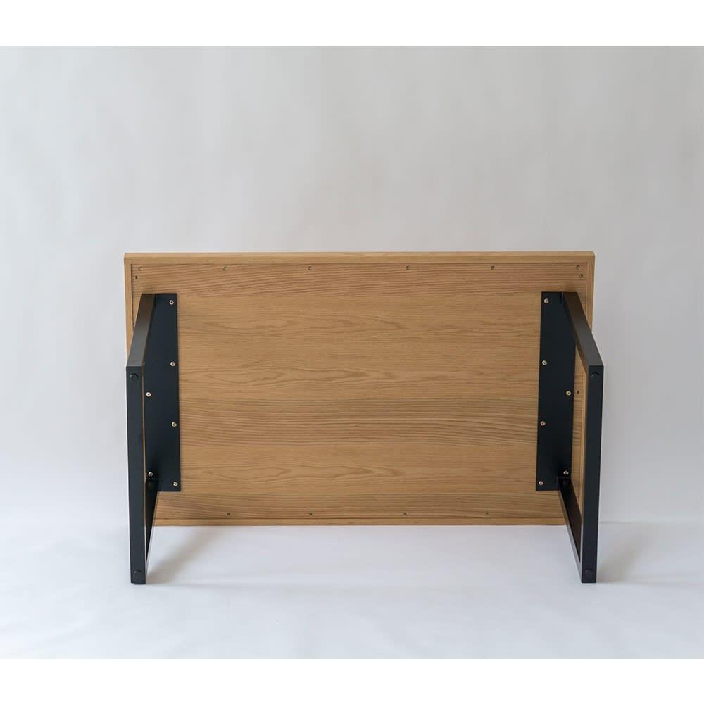 北欧調ヘリンボーンダイニングシリーズ ダイニングテーブル幅150cm ※写真はダイニングテーブル幅130cmタイプです。