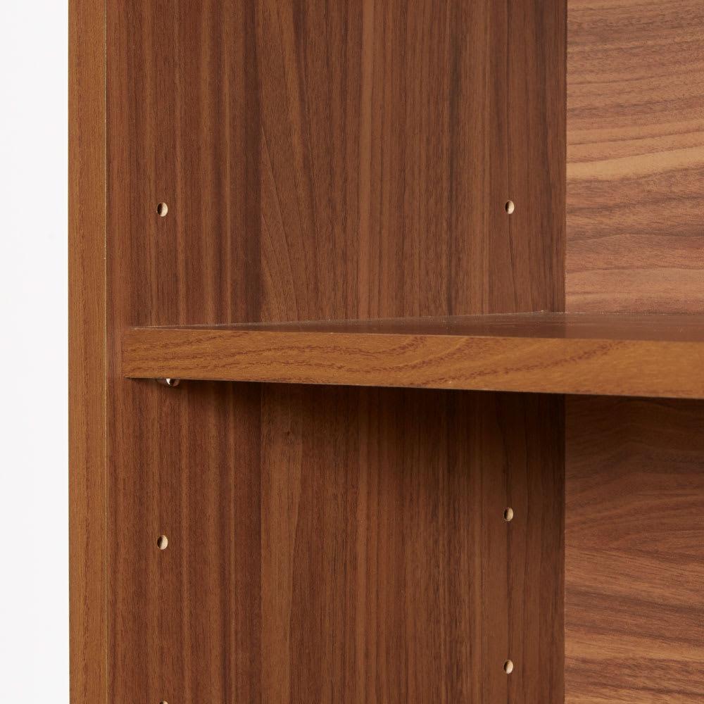 ナチュラルヴィンテージ調シリーズ キャビネット 幅120cm 扉内は可動棚板付きで調整可能です。