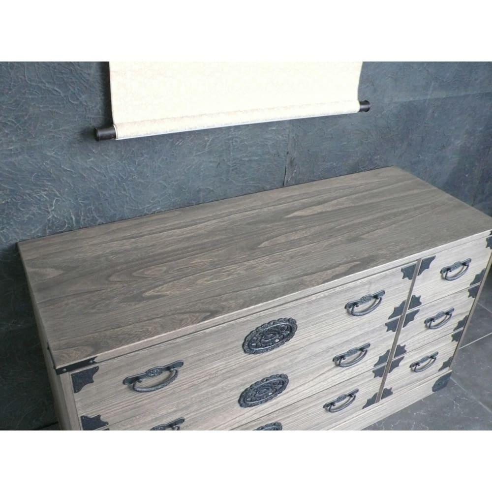 総桐民芸箪笥 3段・幅120高さ63.5cm