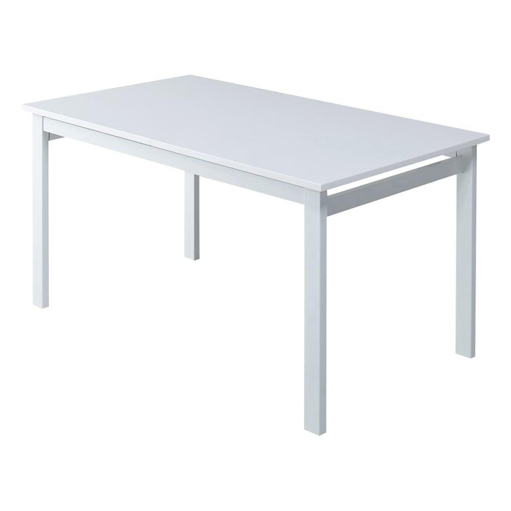 簡単伸長!スマート伸長式テーブル 幅140・180cm (通常時) 幅140cm