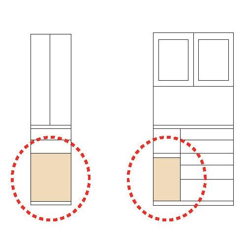 ダストボックス26.5L 2個セット(敷板つき)