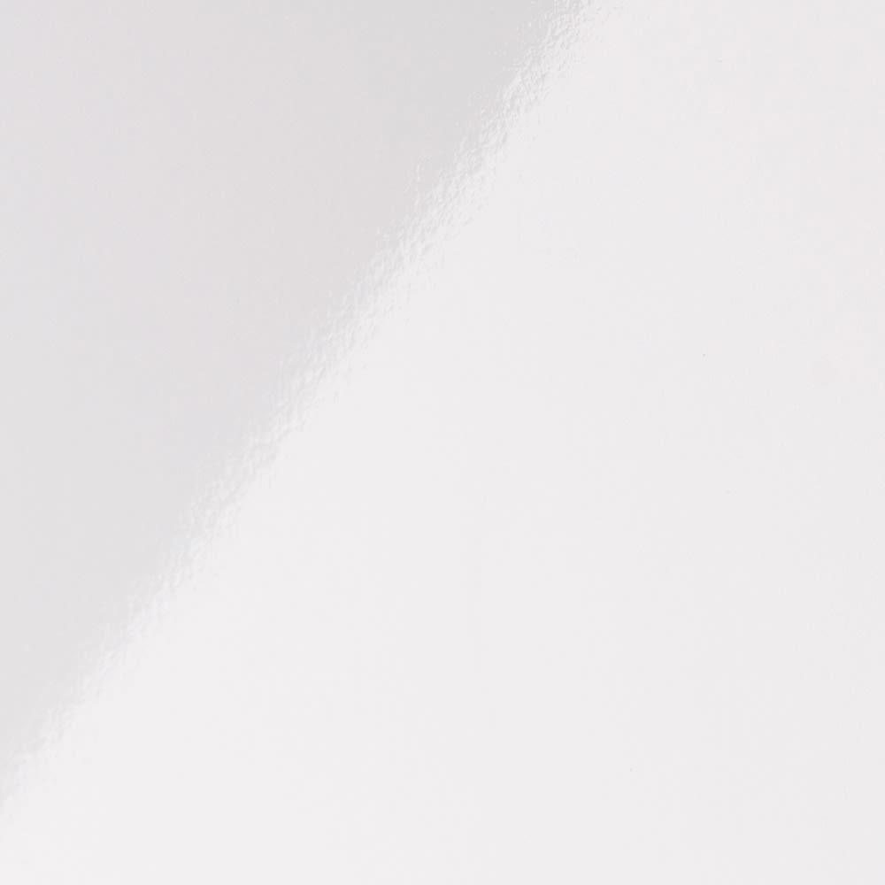 奥行19cmフラップ扉薄型収納庫 チェスト・幅44cm高さ85cm ホワイト色見本