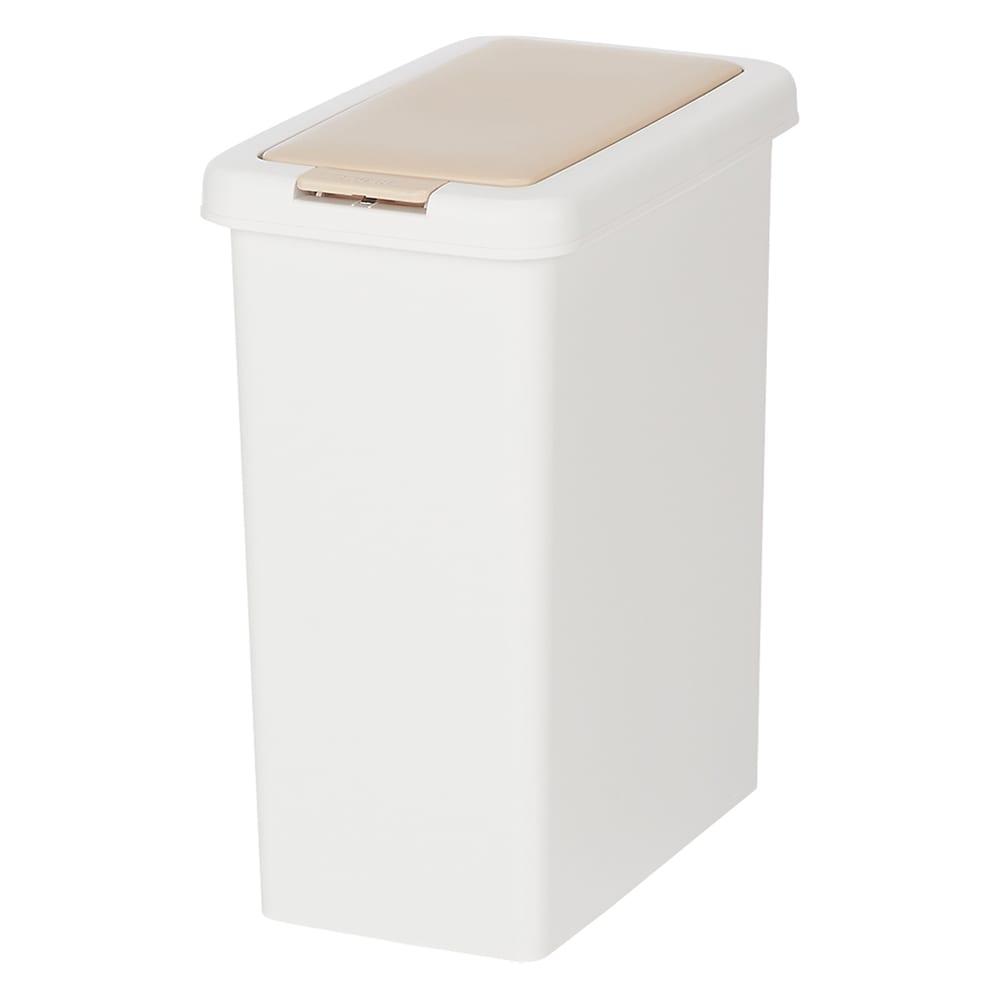 組立不要 スライド天板付きキッチン収納 ゴミ箱2分別 幅53.5cm ペールの容量はたっぷり26.5リットル。