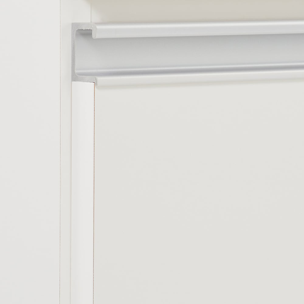 組立不要 スライド天板キッチン収納 ゴミ箱3分別 幅76cm (イ)ホワイト
