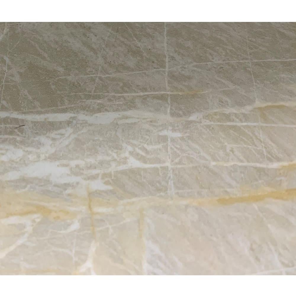 コンセント付き大理石調中天板のサニタリー収納庫 幅40cm まるで本物のような高級感のある大理石柄。