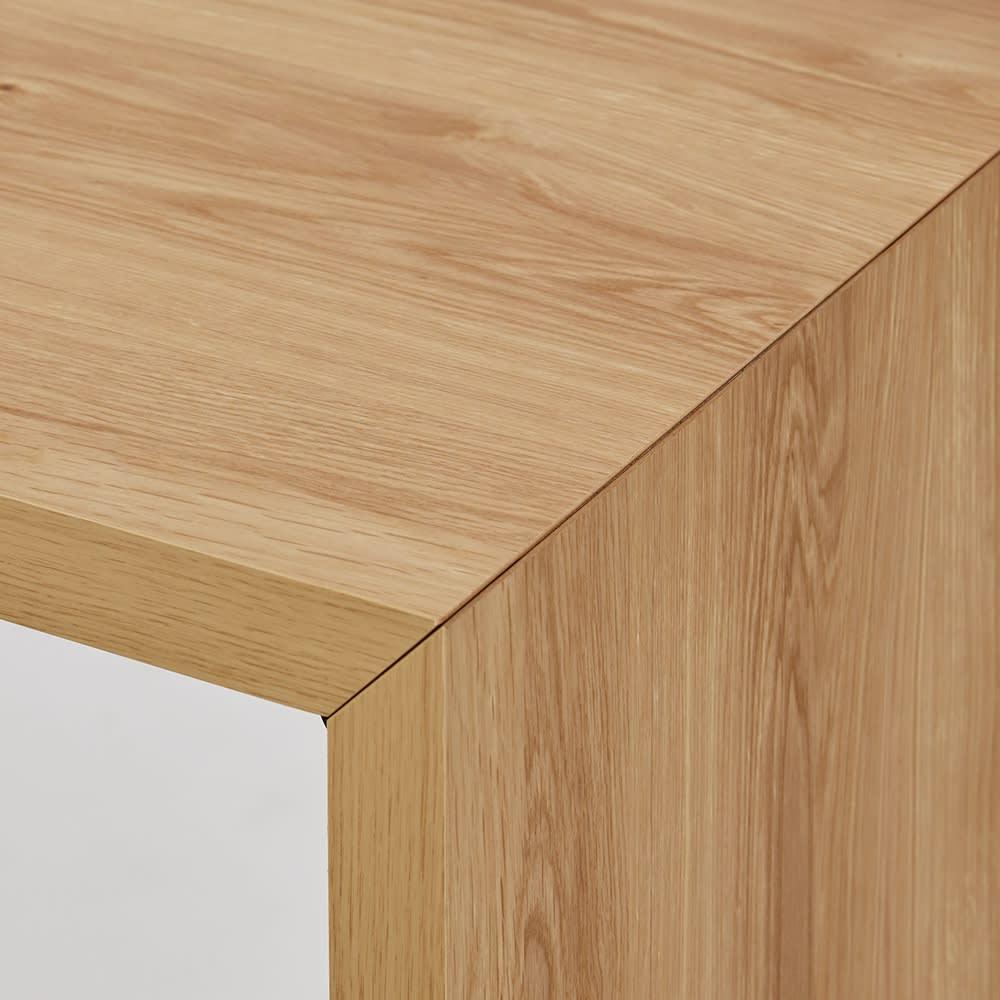 折りたたみできるスマートスタイルテーブル 89×44cm 細部まで丁寧に仕上げた日本製。造りのよさがシンプルさを際立たせます。