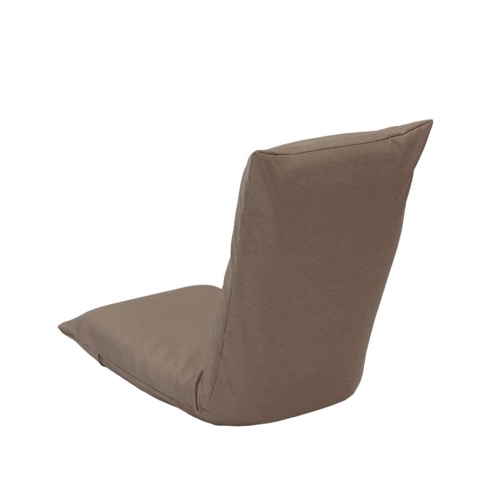 腰に優しいリラックスチェアⅢ 専用カバー (ア)ブラウン