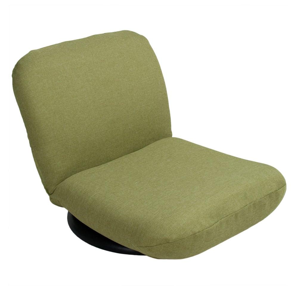 特許を取得した腰に優しい回転座椅子 ロータイプ専用カバー グリーン