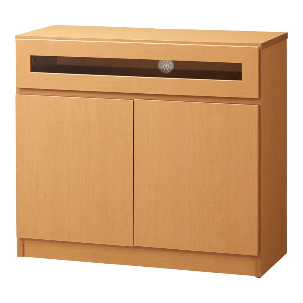 【完成品・国産家具】ベッドルームで大画面シアターシリーズ テレビ台・テレビボード 幅80高さ70cm (イ)ナチュラル