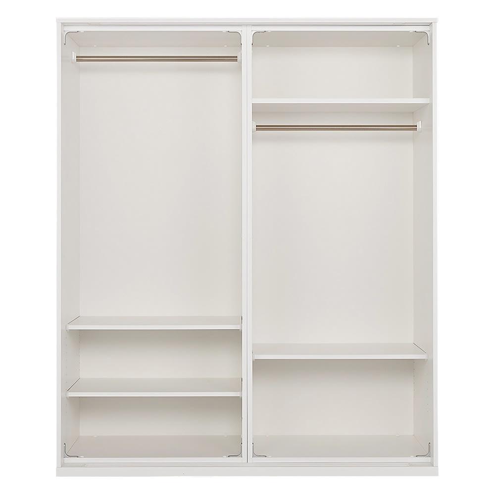 オールインワン引き戸ワードローブ 幅150cm ※写真は扉を外して撮影しています。