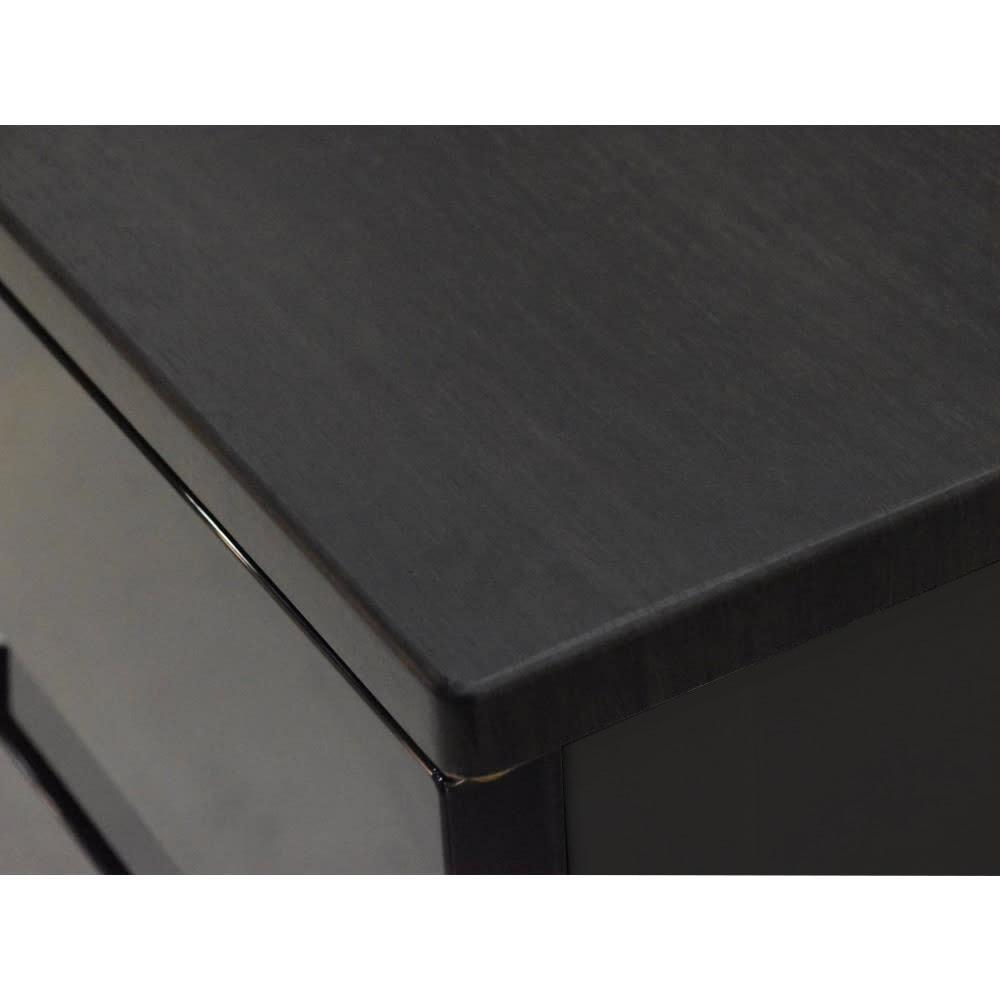 Fits フィッツプラスプレミアム 幅55cm 4段[FP5504 テンマ] 天板はMDF化粧板(オールブラック)
