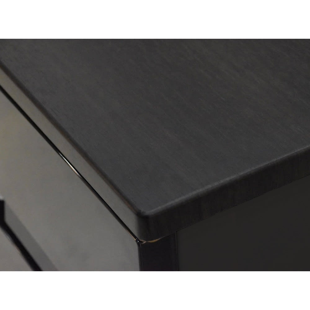Fits フィッツプラスプレミアム 幅55cm 5段[FP5505 テンマ] 天板はMDF化粧板(オールブラック)