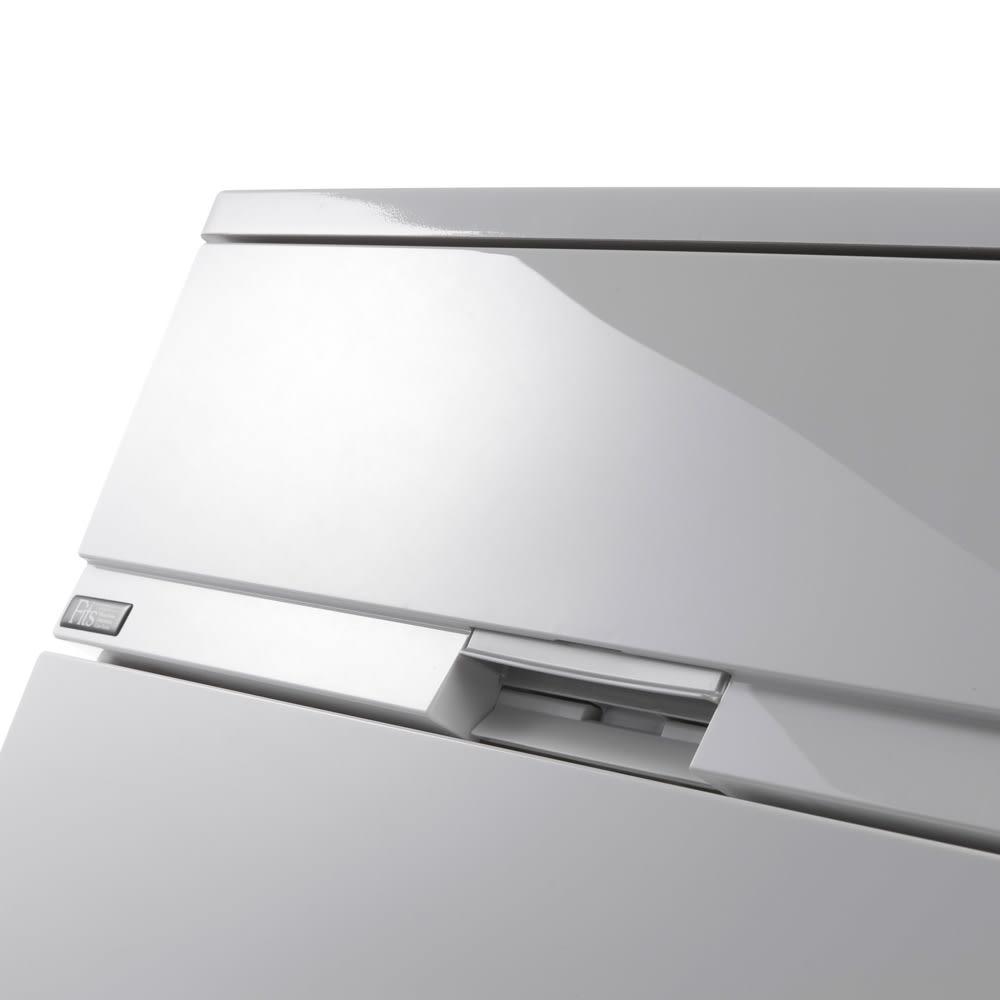 Fits フィッツプラスプレミアム 幅65cm・4段 (ア)セラミックホワイト