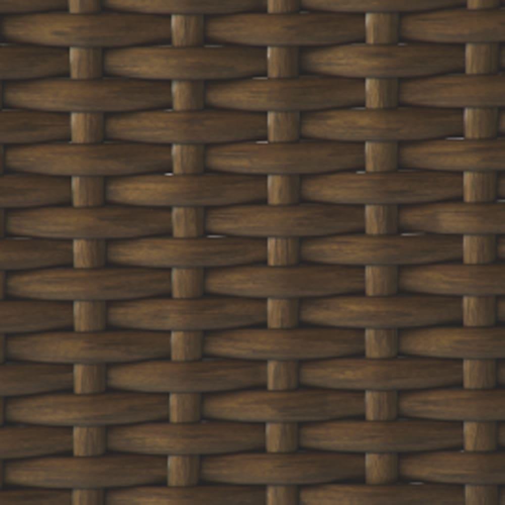 ラタン調シューズラック 3段 素材アップ
