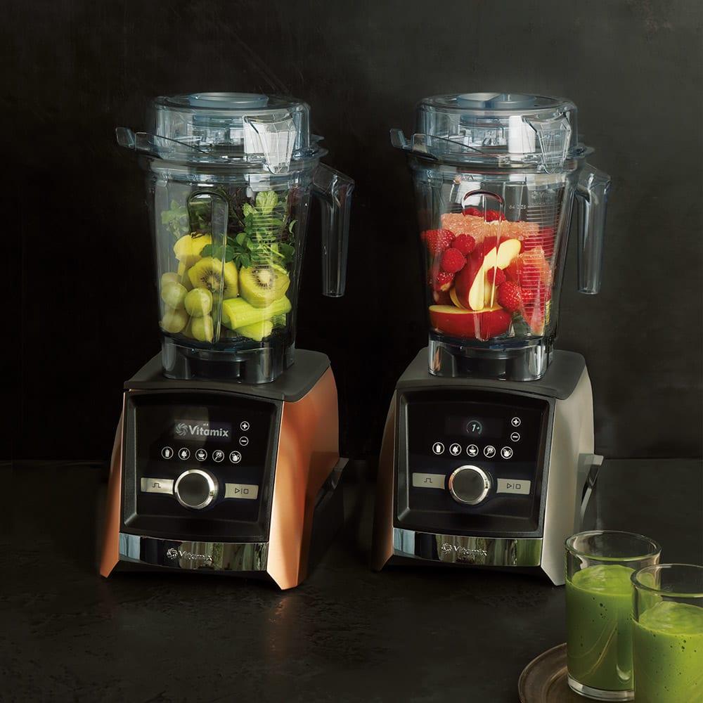 【10年保証付き】Vitamix/バイタミックス アセントA3500i 全自動タイプ 左から(ア)コッパー、(イ)シルバー
