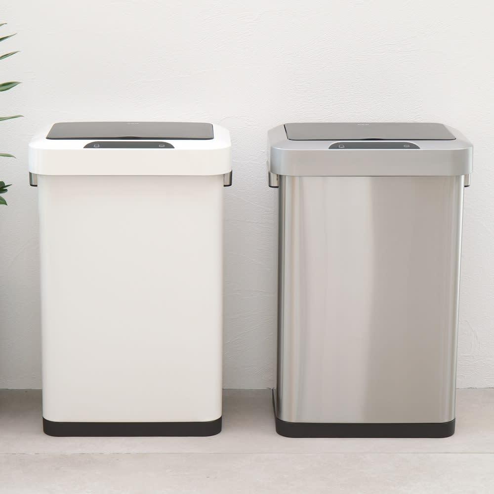 インテリア雑貨 日用品 掃除用品 ゴミ箱 キッチン用ゴミ箱 EKO自動で開閉センサー式ダストボックス45L 561605