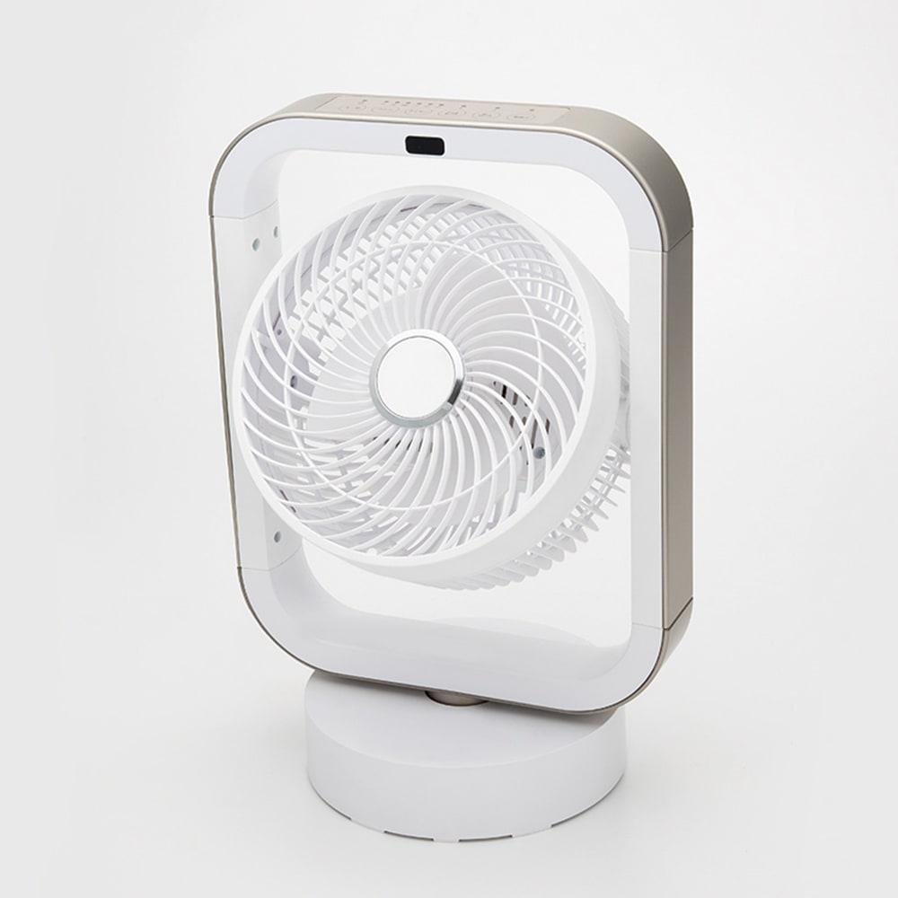 自動首振り機能付き マルチファン 1連 (ア)シャンパンゴールド×ホワイト