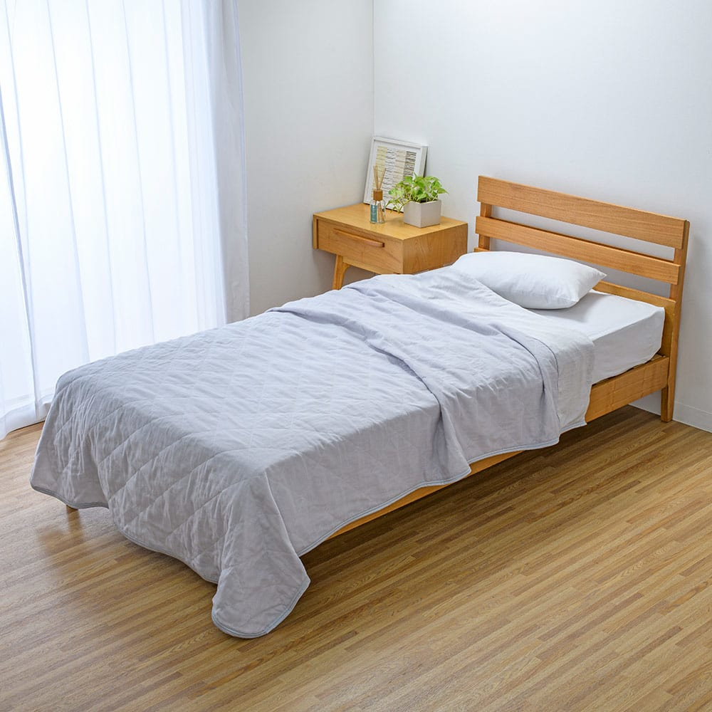 ベッド 寝具 布団 毛布 タオルケット ガーゼケット シングル(ひんやり除湿寝具 デオアイスエアドライシリーズ さらさらケット) 564806
