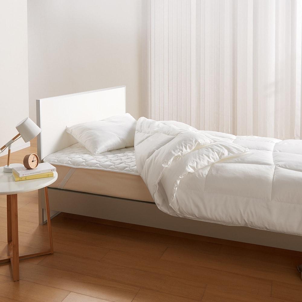 ミクロガード(R)プレミアム布団シリーズ 洗える2枚合わせ掛け布団 【お得な2枚合わせ掛け布団+敷きパッドセット】 ハウスダスト対策におやすみはありません。1年中活躍するお得なセットで毎日気持ち良い眠りが待っています。