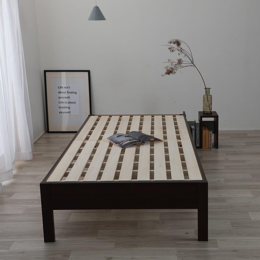 通常すのこベッド(国産ポケットコイルマットレス付き)