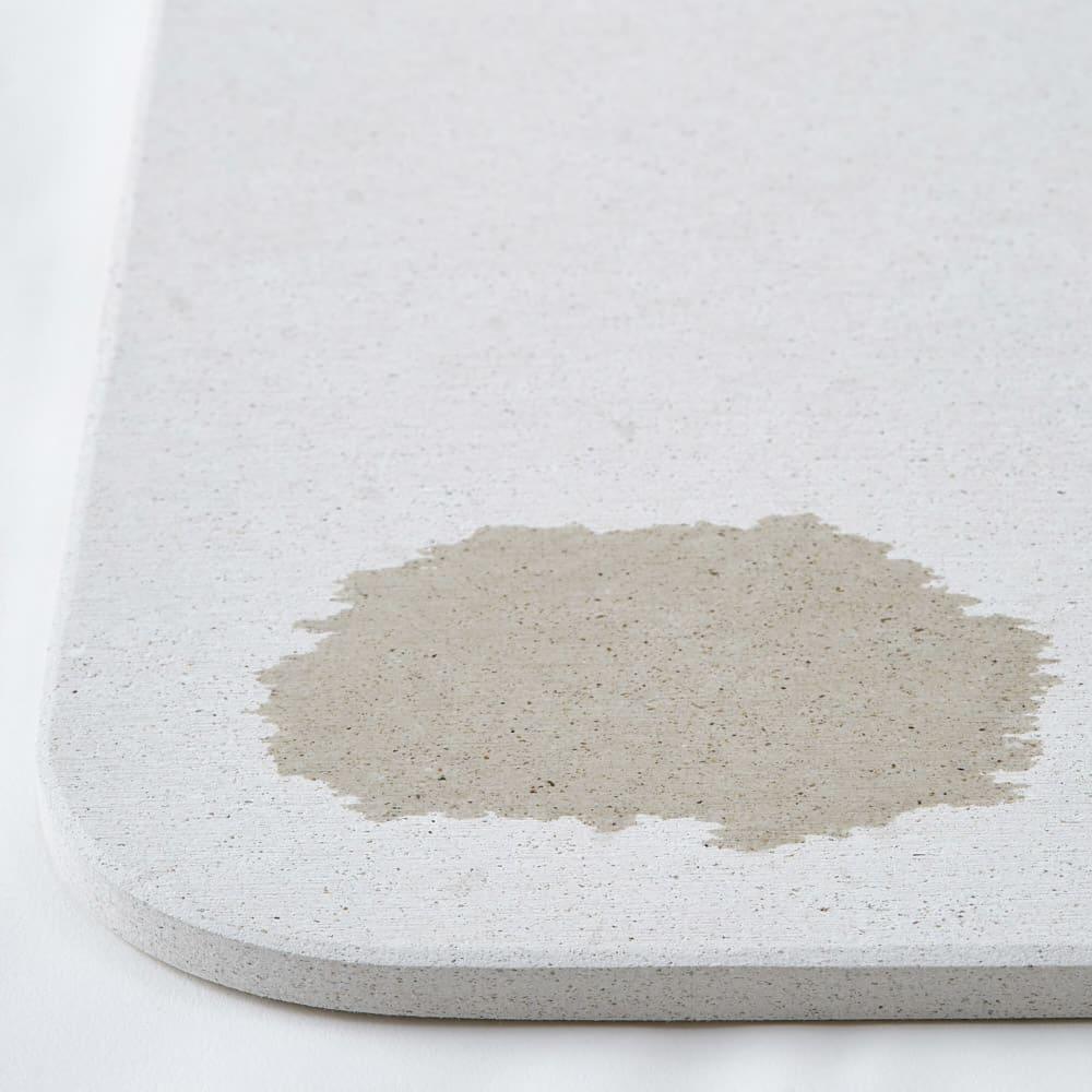【サイズオーダー】 soleau/ソレウ 吸水・速乾・消臭バスマット&ひのきスノコセット 幅71・76cm/奥行46cm