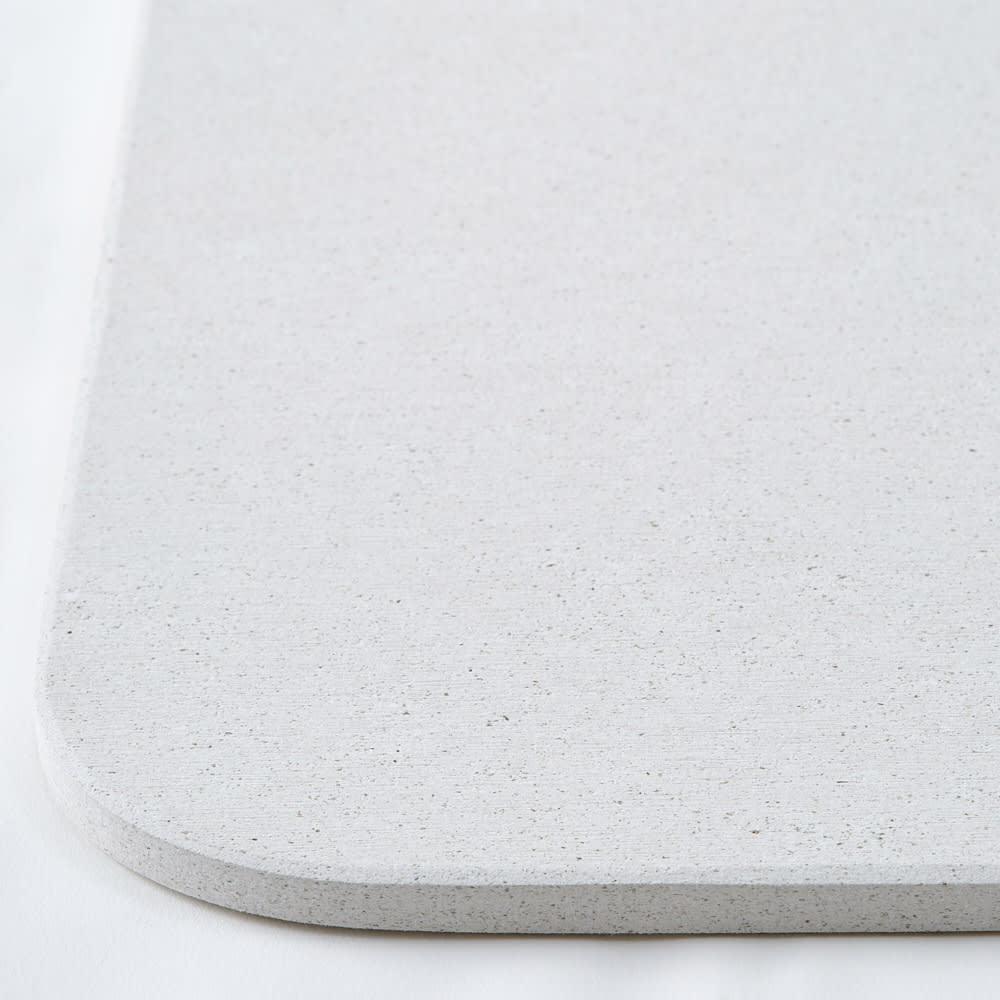 幅45・50cm/奥行40cm (soleau/ソレウ 吸水・速乾・消臭バスマット サイズオーダー) 吸水イメージ※画像はシリーズ商品です。
