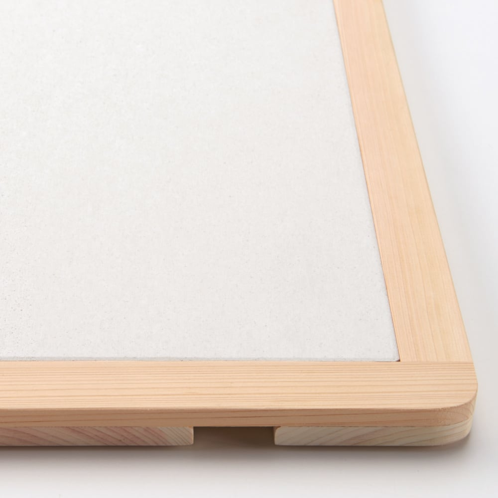 幅75・80cm/奥行40cm (soleau/ソレウ 吸水・速乾・消臭バスマット サイズオーダー) よりシンプルで上品なデザイン。 ※スノコは商品に含まれません。
