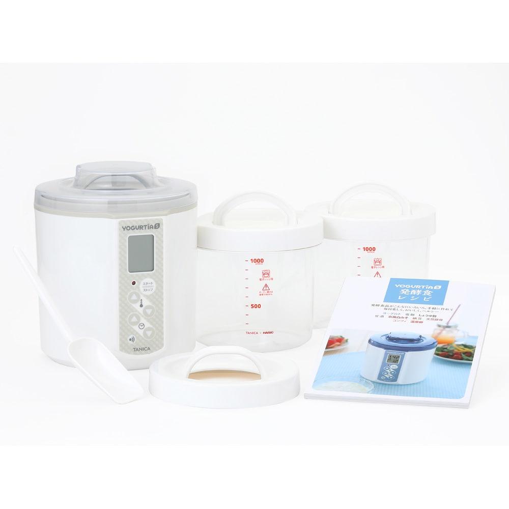 キッチン 家電 調理家電 キッチン家電 タニカ ヨーグルティアS ガラス容器セット 581607
