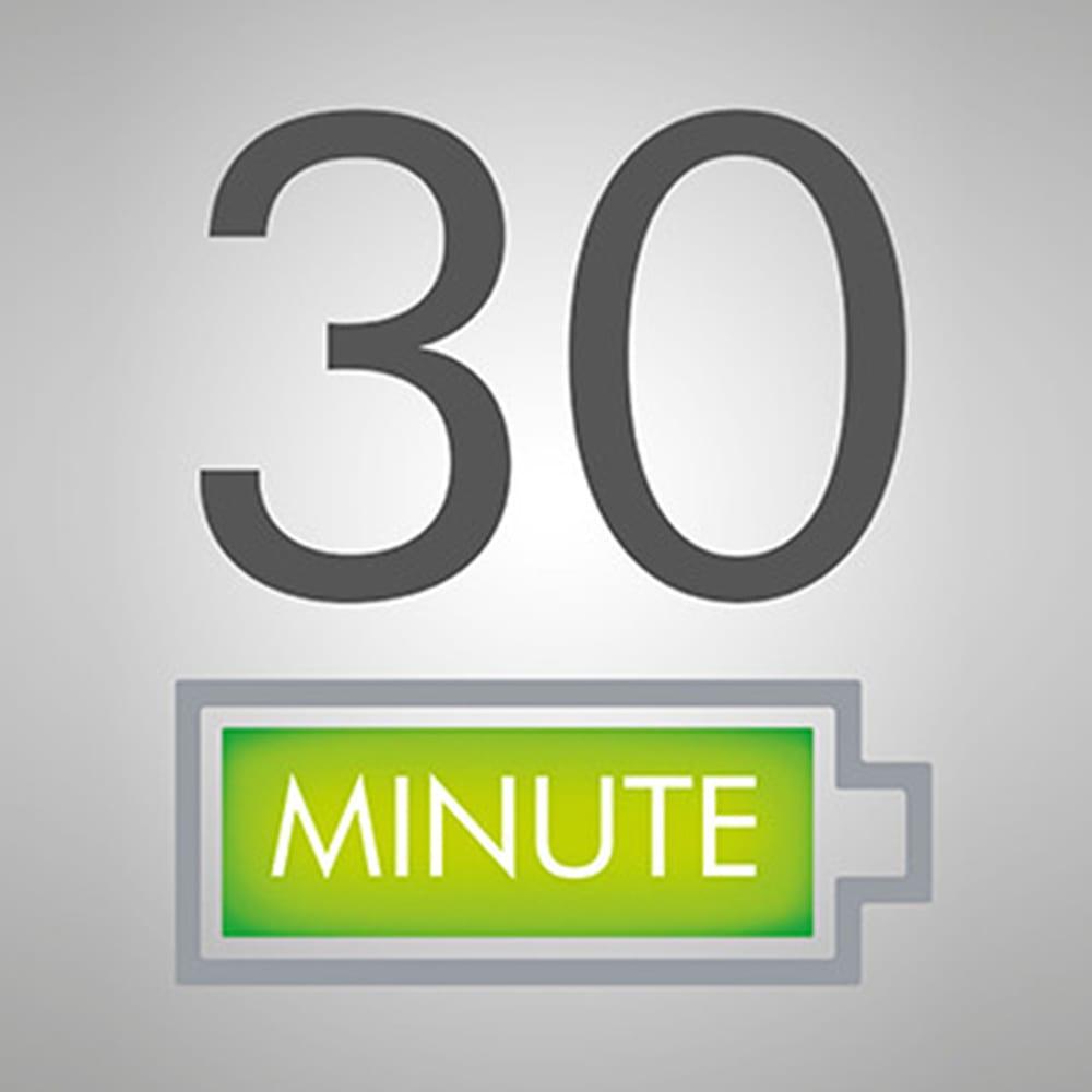 ダイソン スティッククリーナー SV11 スリム 最長で30分の稼働時間。