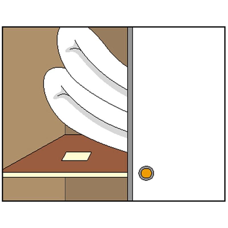 日革研究所 「ダニ捕りロボ」 ハードケース 5個組(ソファー・押入れ用) 押入れの布団の下に。